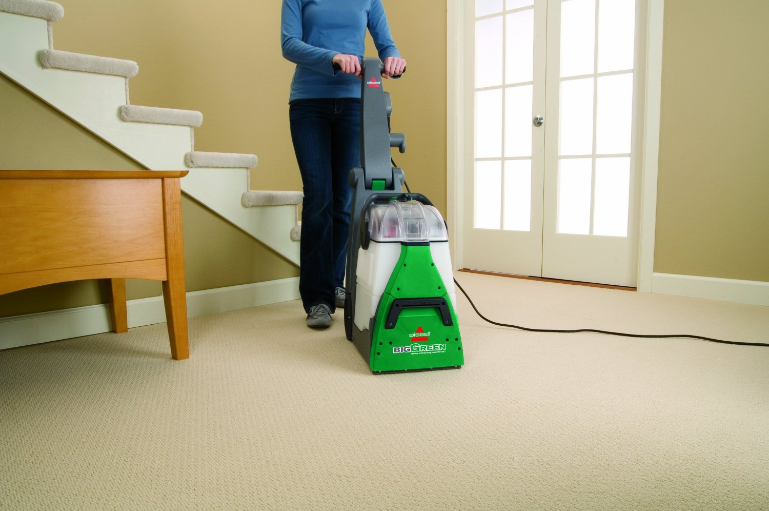 BISSELL BIG GREEN DEEP CLEANING MACHINE ON SALE AT ...