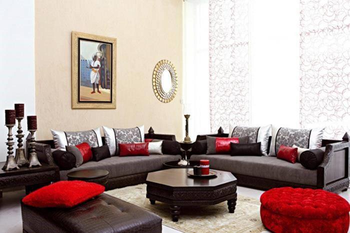Salon Marocain pas cher: Décoration salon moderne 2019 haut ...