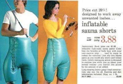 Inflatable Sauna Shorts