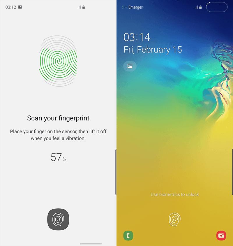 Ultrasonic Fingerprint sensor