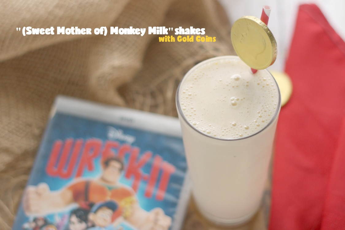 Easy Banana Milkshakes