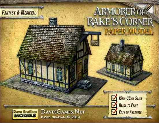 Tabletop Fix: Dave Graffam Models - Armorer of Rake's Corner Paper