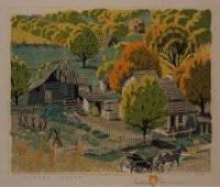 Gustave Baumann Woodblock Print $4,250