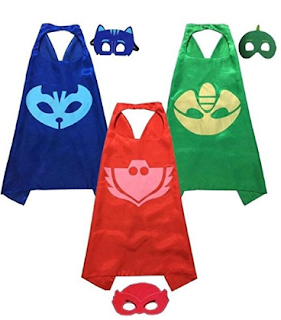 PJ Masks Dress-UP Mask & Cape Set