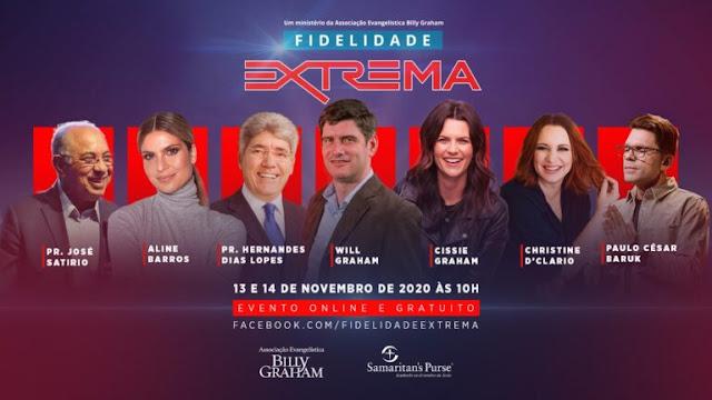 Associação Billy Graham fará evento online em português