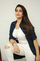 Manjusha in White Tight T Shirt and Black Jacket ~  Exclusive Celebrities Galleries 011.JPG