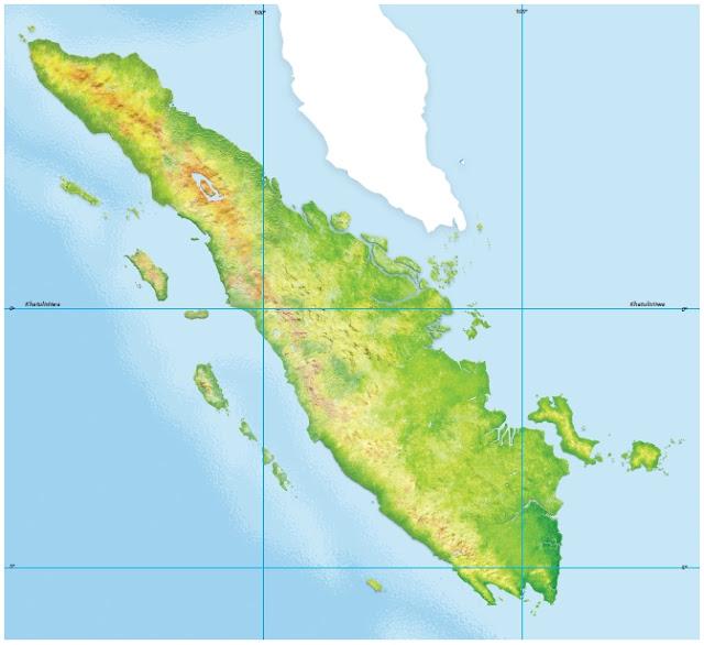 Peta Buta Pulau Sumatera