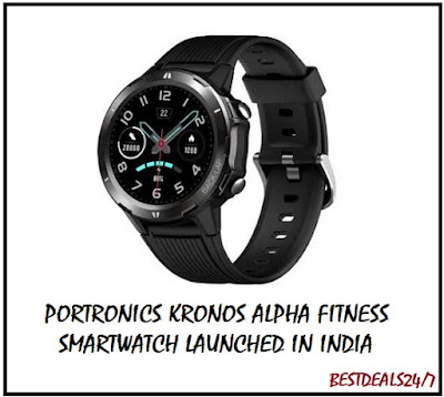 Portronics New Smartwatch Launched in India