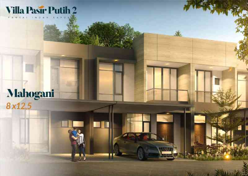 Villa Pasir Putih 2 Tipe Mahogani