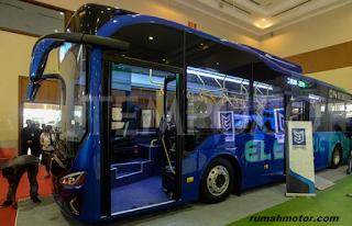 Bus Buatan Anak Bangsa Jadi Trending Topik