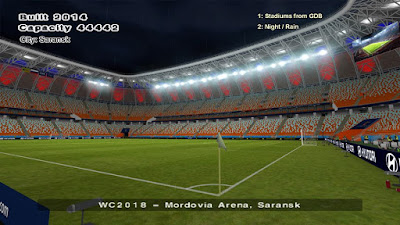 PES 6 Stadiums Mordovia Arena ( World Cup 2018 )