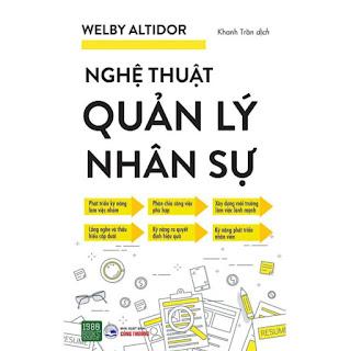Sách - Nghệ Thuật Quản Lí Nhân Sự ebook PDF-EPUB-AWZ3-PRC-MOBI