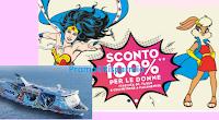 Logo Promozione Super Donna: sconto del 100% Moby, Tirrenia e Toremar per le tue vacanze
