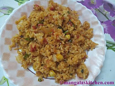 Vengaya Sadam | Onion Rice Recipe