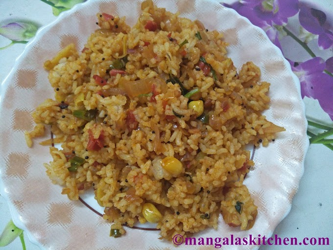 Madurai Vengaya Sadam | Onion Rice for Lunchbox