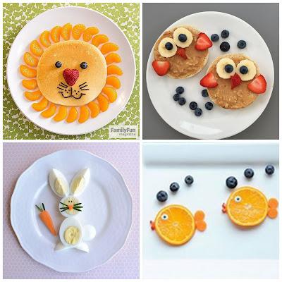أشكال مبتكرة لتقديم الطعام للأطفال