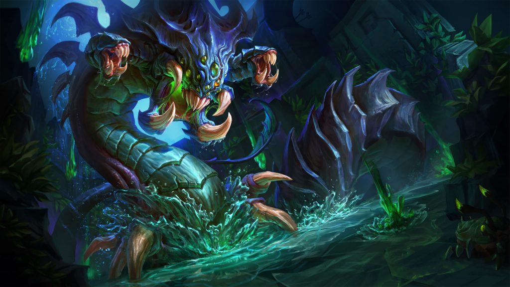Baron Nashor is the strongest creature in the LoL jungle.