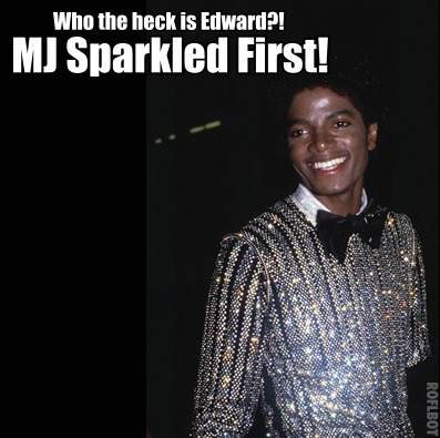 Michael Jackson Sparkled First