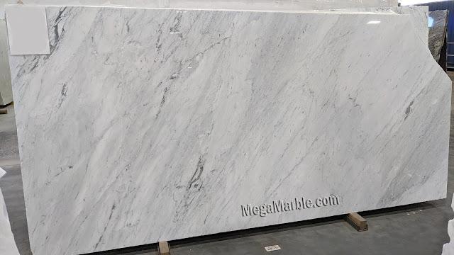 Carrara White Marble Italian Slab 2cm