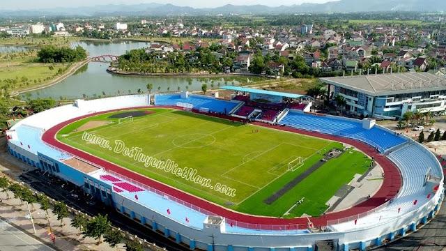 Sân vận động Hà Tĩnh bị cắt trộm cáp điện cột đèn, thiệt hại lên đến trăm triệu