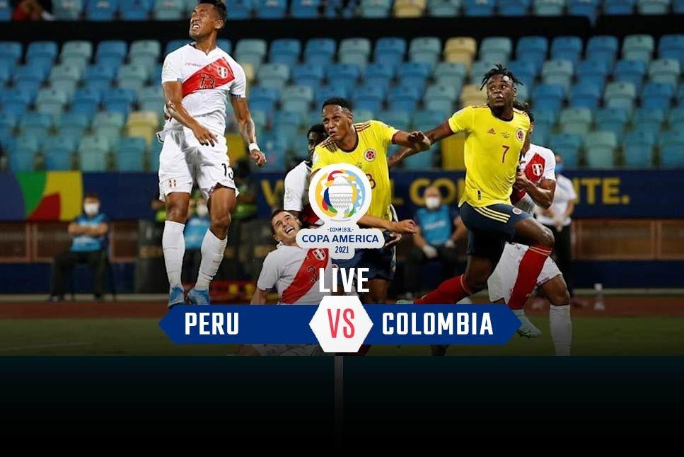 مباراة كولومبيا والبيرو