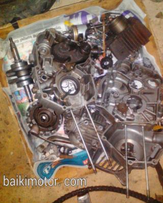 Cara overhaul motor 4-stroke | Cakap Pomen Motor