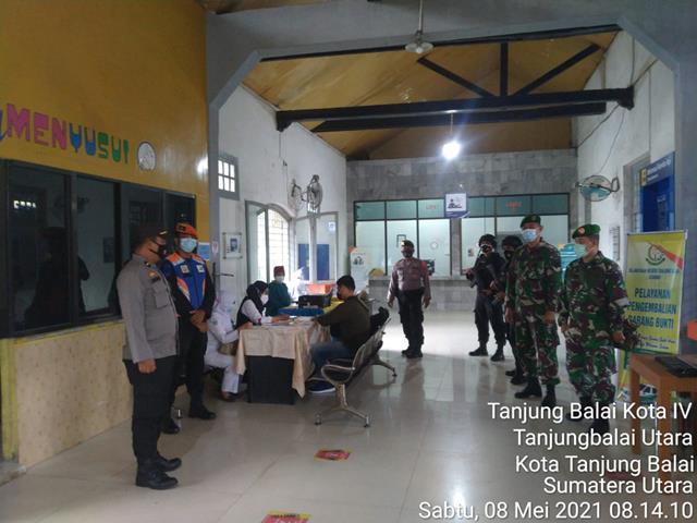 Dalam Rangka Pengamanan Ops Ketupat Toba, Personel Jajaran Kodim 0208/Asahan Kompak Dengan Instansi Terkait