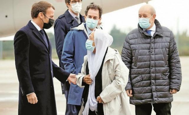 Disambut Macron di Bandara, Sandera yang Ditebus 10 Juta Euro + 200 Tahanan Ternyata Sudah Muallaf