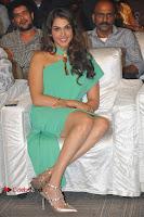 Actress Isha Koppikar Pos in Green Dress at Keshava Telugu Movie Audio Launch .COM 0032.jpg