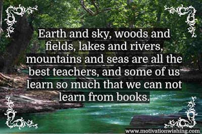 Inspirational Nature Quotes in English