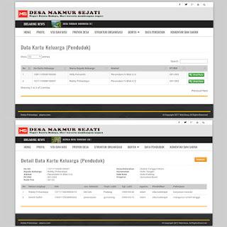 Script Untuk Bikin Web Portal Desa Responsive Dengan PHP Dan MySQL