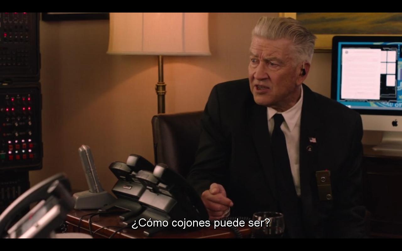 Lynch planteándose la verosimilitud de su propio argumento