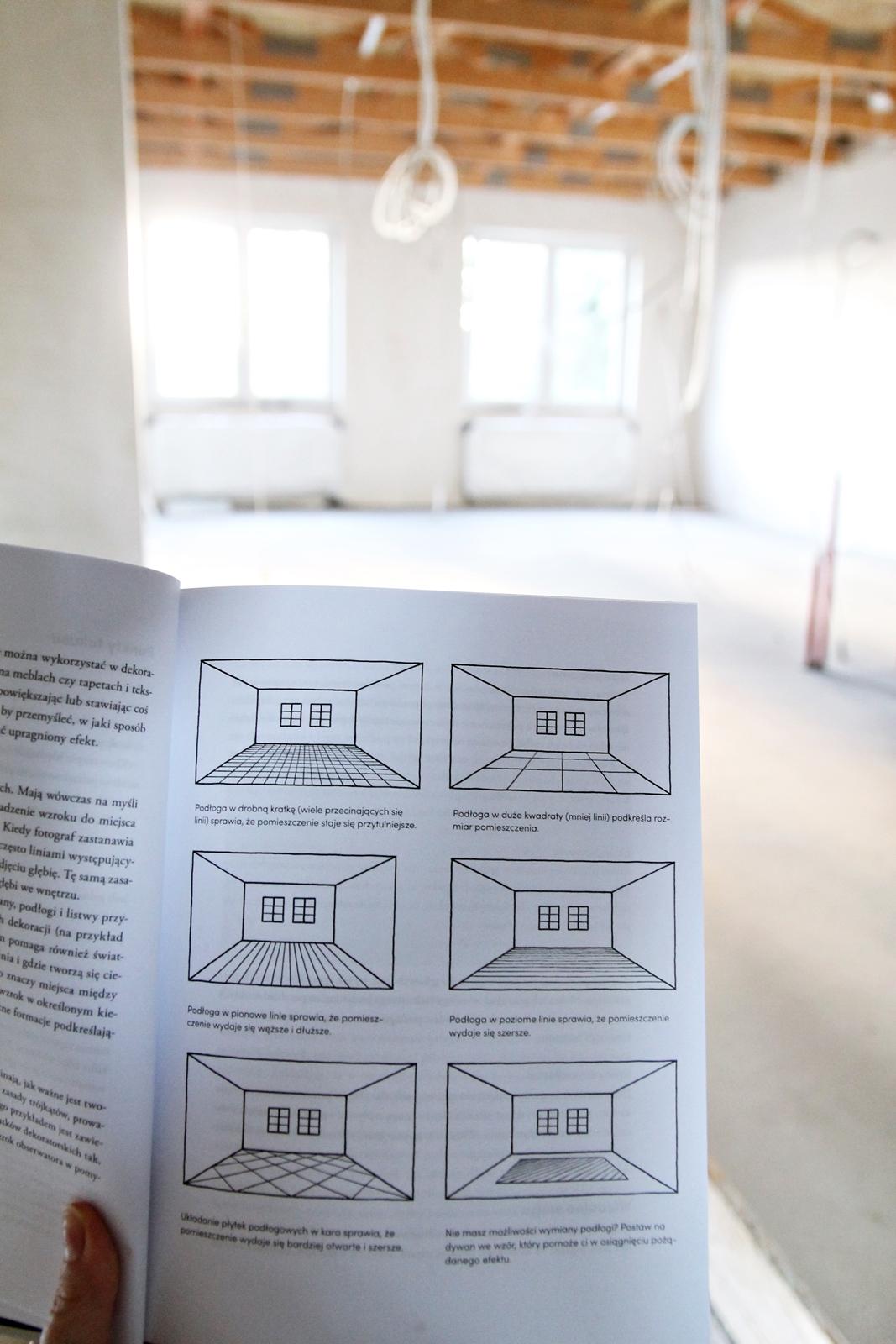 Linia osiowości - projektowanie wnętrz