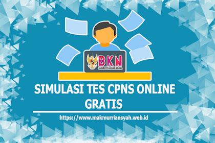 Simulasi Sistem CAT CPNS Online Gratis