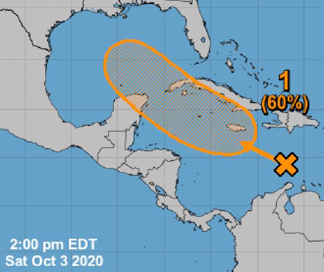 Prepárate: otro ciclón tropical se dirige a la Península de Yucatán