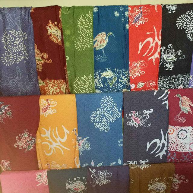 Batik Kuntul Perak