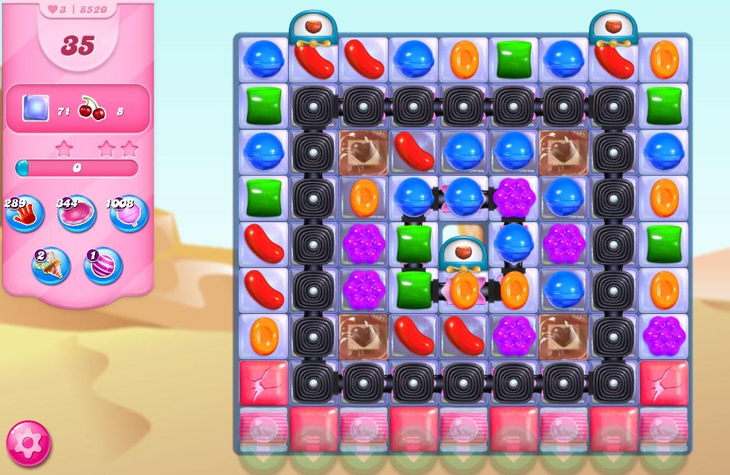 Candy Crush Saga level 8520