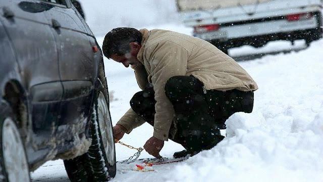 Ποιοι δρόμοι έκλεισαν και που χρειάζονται αλυσίδες στην Πελοπόννησο