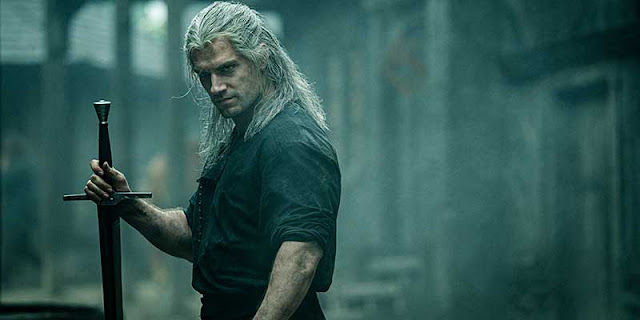 Henry Cavil en The Witcher