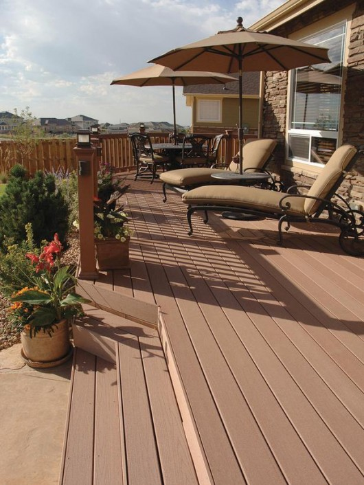 Amazing Beautifuly Wood Deck Designs Ideas | Interior ... on Timber Patio Designs id=47769