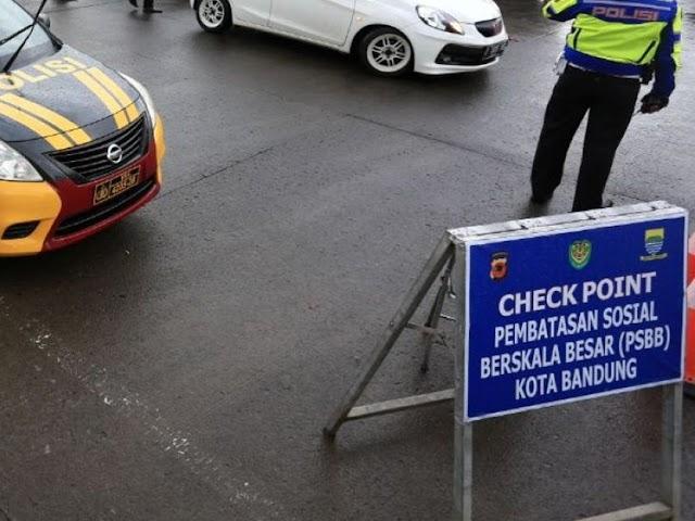 Wajib Tahu, Ini Aturan PSBB Provinsi Jawa Barat di Kota Bandung