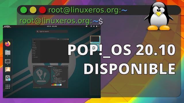 Disponible Pop!_OS 20.10 - Novedades