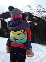 tula toddler daydreamer portage hiver neige pratique poussette
