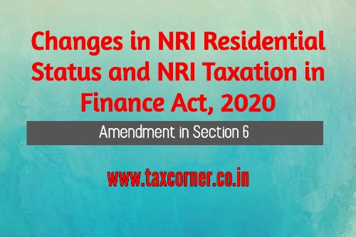 changes-in-nri-residential-status-and-nri-taxation-in-finance-act-2020