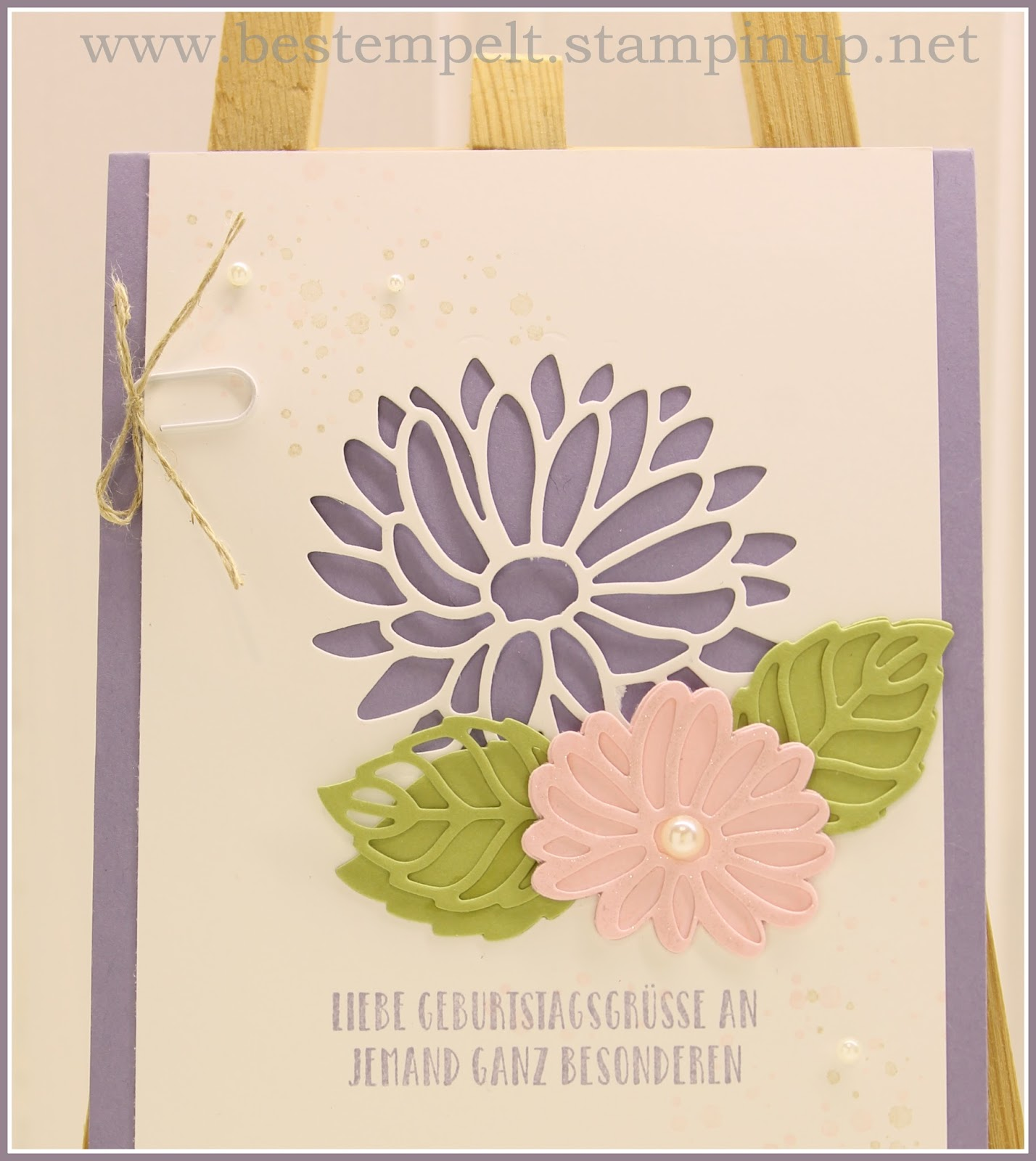 Stampin Up Karten Groesse Claudia S Blog