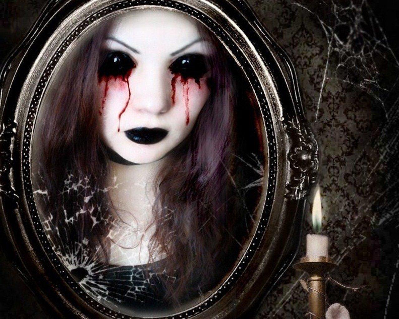 gothic vampire bloody girl - photo #26
