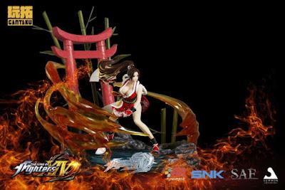 Mai Shiranui 1/6 Diorama de The King of Fighters XIV - Gantaku