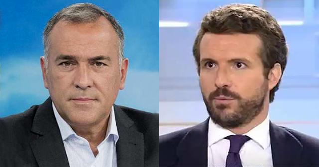 Xavier Fortes y Pablo Casado