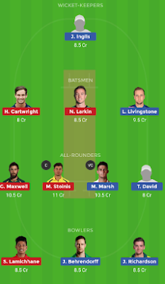 STA vs SCO dream 11 team | SCO vs STA