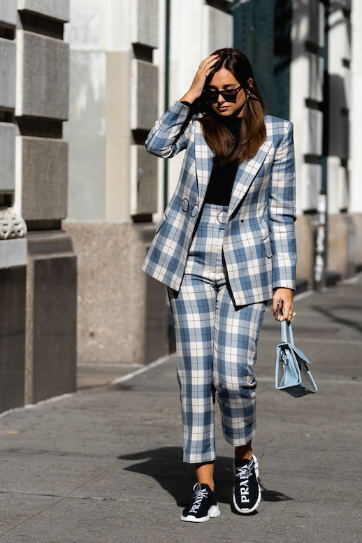 The Modern Way To Style A Power Suit This Fall
